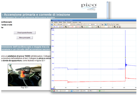 Software Automotive PicoScope 6 in Italiano