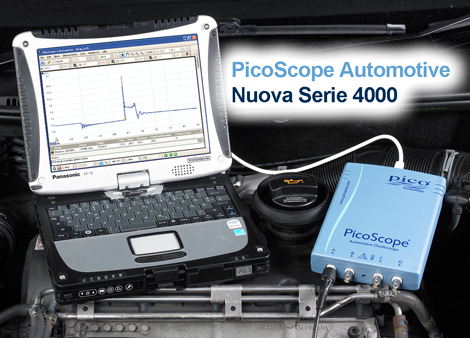 Nuova Serie PicoScope Automotive 4000