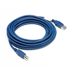 Cavetto USB 2.0 blu 4.5m